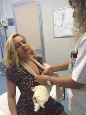 Lisa Fusco in ospedale