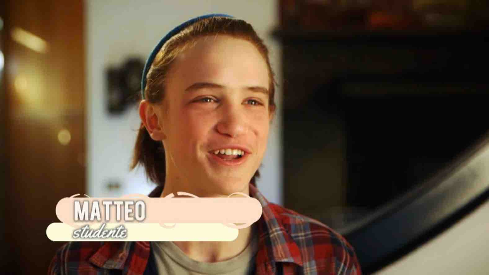 Matteo - Bake Off Italia 3