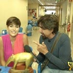 La consegna del tapiro a Miss Italia 2015 Alice Sabatini