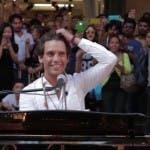 Mika concerto centro milano