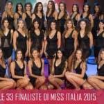Miss Italia 2015 - Le 33 Finaliste