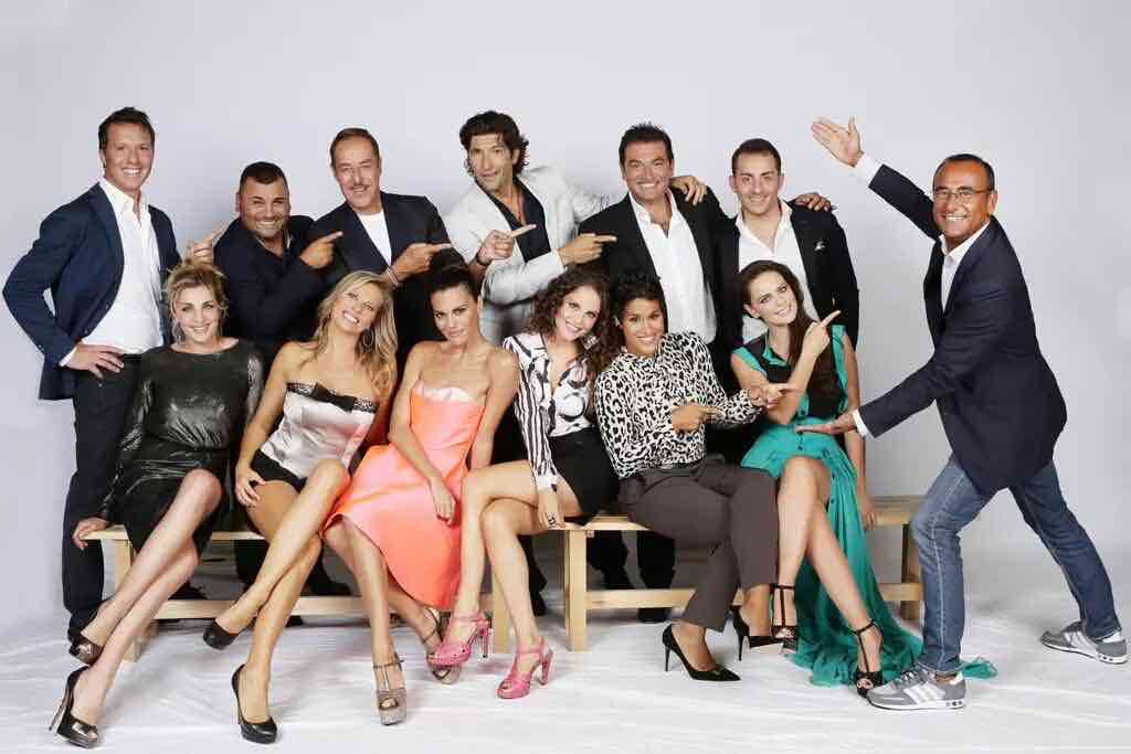 Tale e Quale 2015 - cast