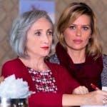 Lunetta Savino e Claudia Pandolfi
