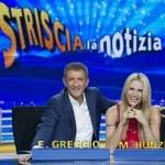 Ezio Greggio e Michelle Hunziker - Striscia la notizia