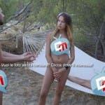 Isola Adamo ed Eva - puntata 3 - Er Lattina (Riccardo Vallone) con Francesca e Pamela - 2-1