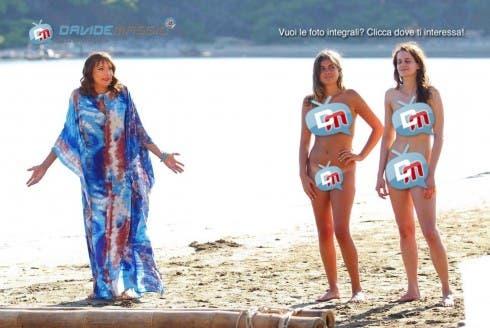 L'Isola di Adamo ed Eva - concorrenti nudi - 7