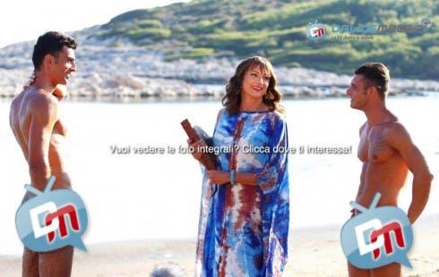 L'Isola di Adamo ed Eva - concorrenti nudi - 9