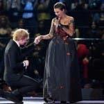 Ed Sheeran e Ruby Rose