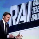 Renzi, Rai