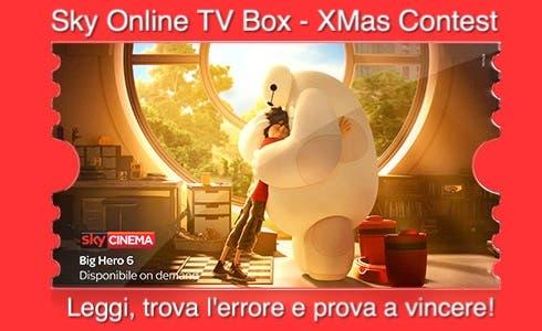 Big Hero 6 - Sky Online TV Box Xmas Contest