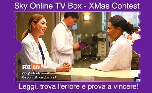 Grey's Anatomy - Sky Online TV Box XMas Contest