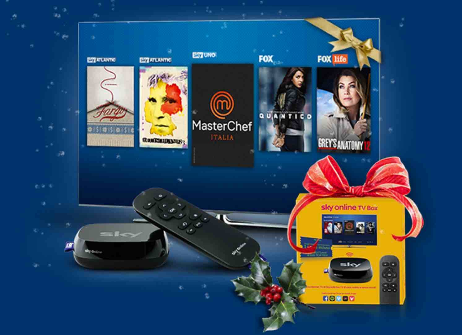 Sky Online TV Box Xmas Contest