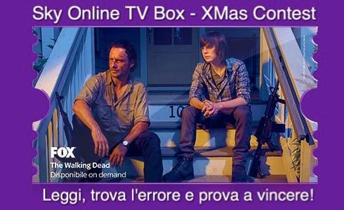 Sky Online TV Box Xmas Contest - The Walking Dead