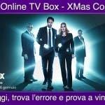 Sky Online TV Box Xmas Contest - X Files