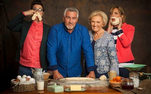 The Great British Bake Off - ascolti Uk