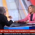 Renato Brunetta vs Maria Latella, SkyTg24