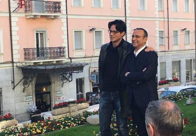 Sanremo 2016 - Gabriel Garko e Carlo Conti