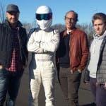 Top Gear Italia. Bastianich, Stig, Guido Meda, Davide Valsecchi