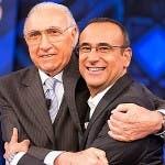 Pippo Baudo e Carlo Conti