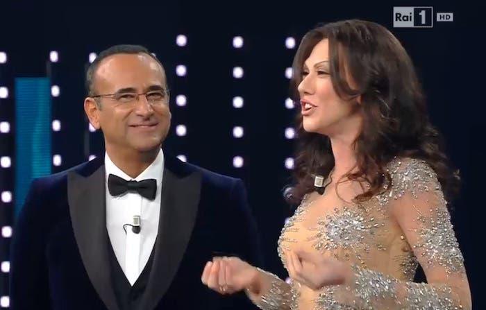 Sanremo 2016 - Virginia Raffaele - Sabrina Ferilli