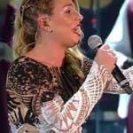 Sanremo 2016 - Virginia Raffaele imita Belen 8