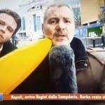 Sportitalia, disturbatore con banana