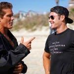 Baywatch - David Hasselhoff e Zac Efron
