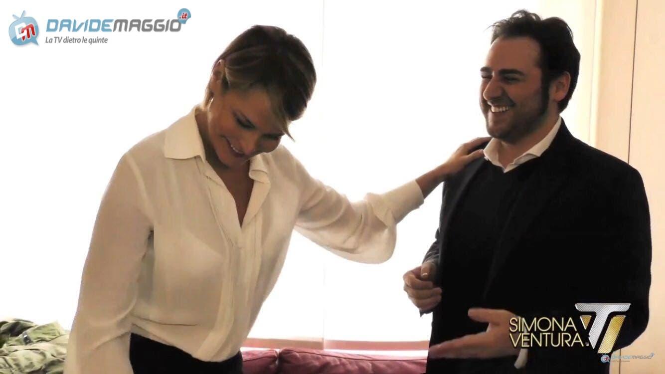 Simona Ventura - Davide Maggio - Isola dei Famosi 2016