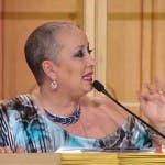 Carolyn Smith senza turbante