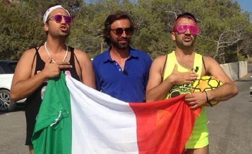 Emigratis - Andrea Pirlo, Pio e Amedeo