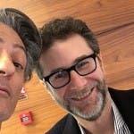 Fiorello e Fabio Fazio
