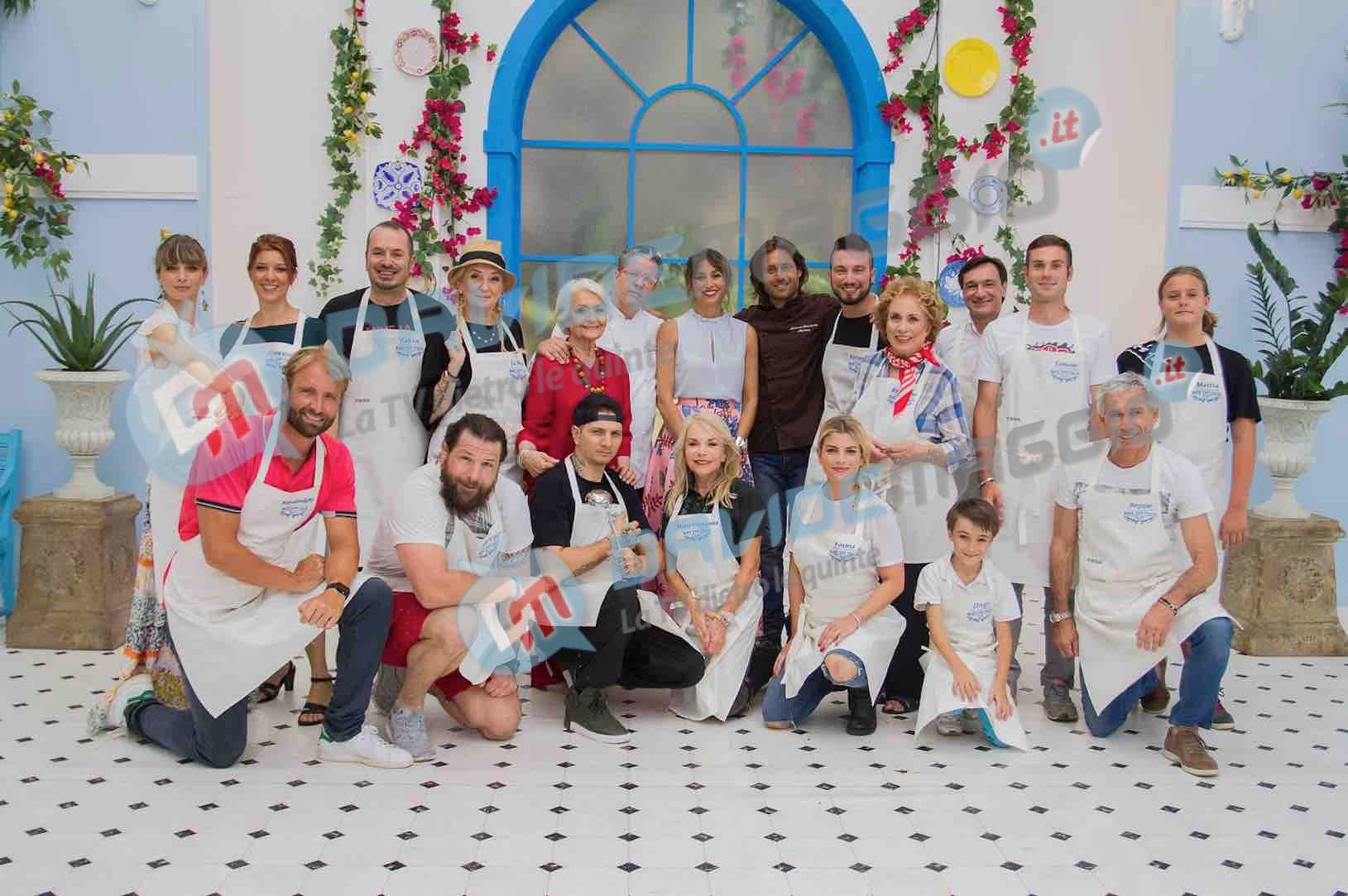 Bake Off VIP - concorrenti
