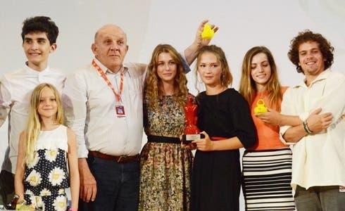 Il cast di Braccialetti Rossi 3 e Carlo Degli Esposti al Giffoni 2016