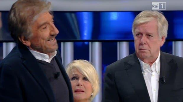 Gigi Proietti, Loretta Goggi e Claudio Lippi a Tale e Quale Show