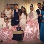 La famiglia protagonista della prima puntata de La Quinceanera