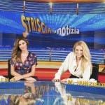 Belen e Michelle Hunziker a Striscia la Notizia