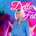 Caterina Balivo capelli rosa