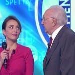 Chiara Francini e Pippo Baudo