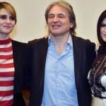 Paola Cortellesi, Antonio Campo Dall'Orto e Laura Pausini
