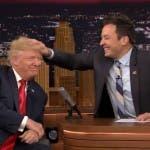 Tonight Show, Jimmy Fallon e Donald Trump