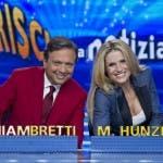 Chiambretti - Hunziker a Striscia la Notizia