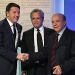 Matteo Renzi, Enrico Mentana, Gustavo Zagrebelsky