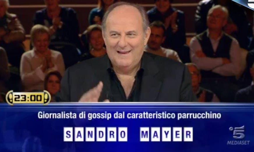 Caduta Libera - parrucchino Sandro Mayer