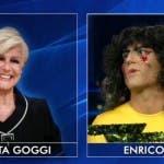 Enrico Papi sarà Loretta Goggi