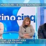 Mattino Cinque - Crioconservazione - Mussolini