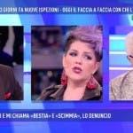 Filippo Facci vs Manuela Villa, Domenica Live