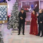 Teo Mammucari, Laura Pausini, Gerry Scotti in House Party
