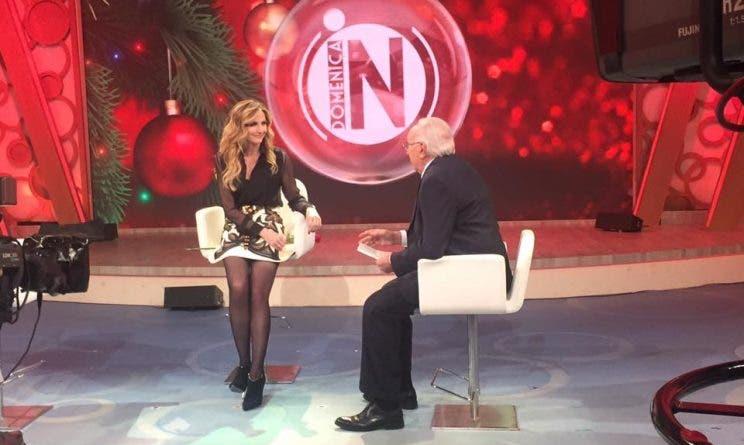 Lorella Cuccarini - Domenica In - Natale 2016