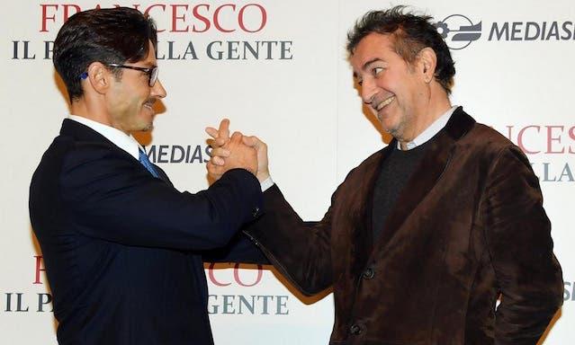 Piersilvio Berlusconi e Pietro Valsecchi