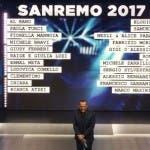Sanremo 2017 - I big in gara